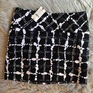Express Plaid Skirt